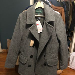 J crew pea coat brand new with tags